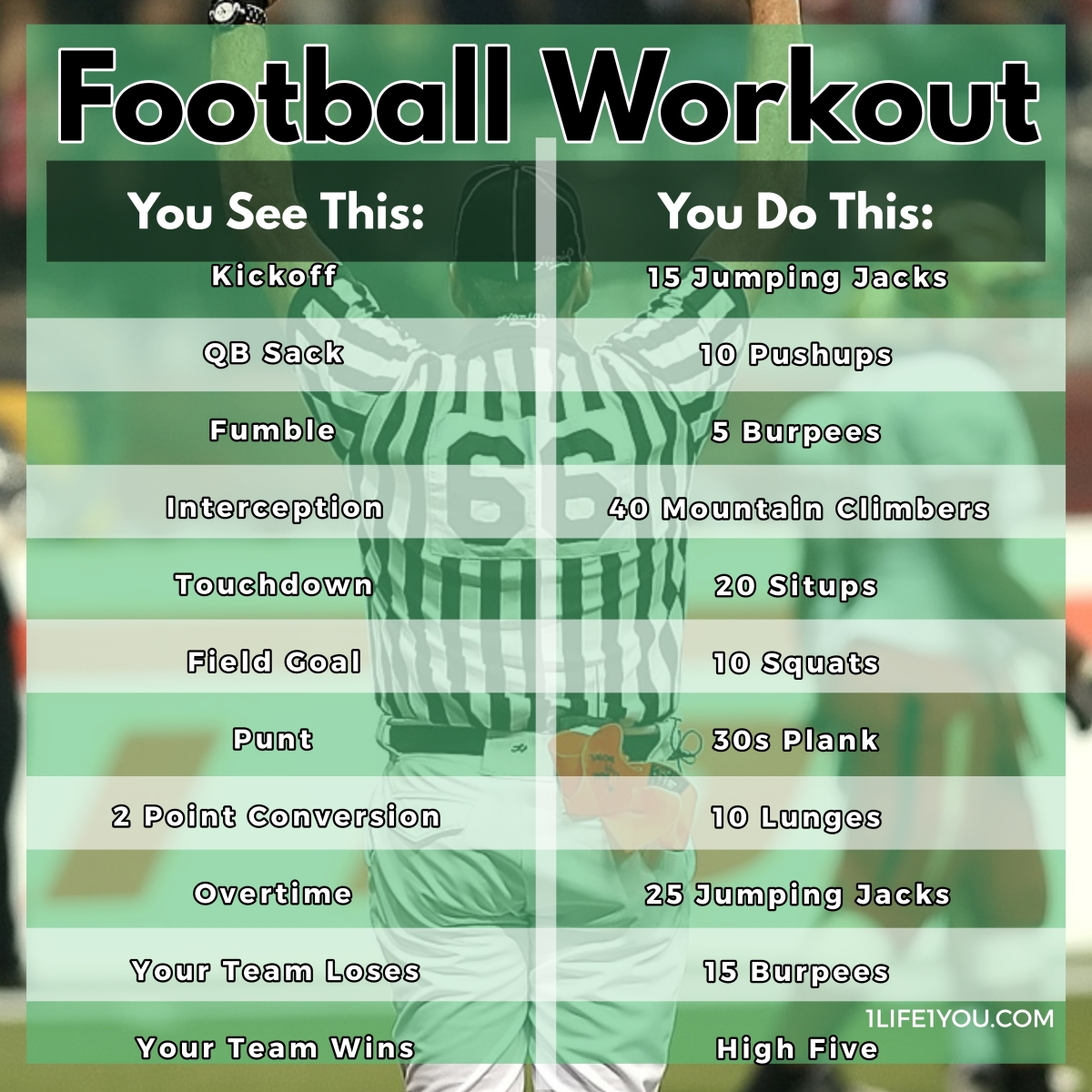 Football Workout Challenge