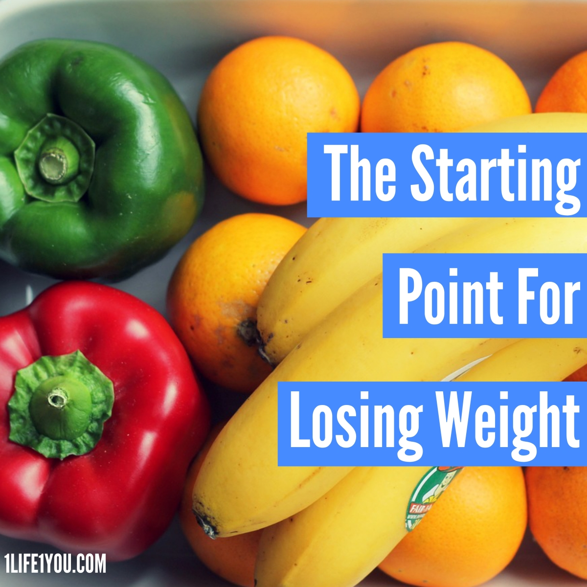 The Starting Point For Losing Weight