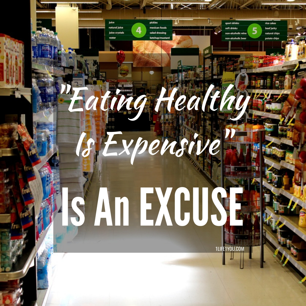 Eating Healthy Is Expensive Is An Excuse