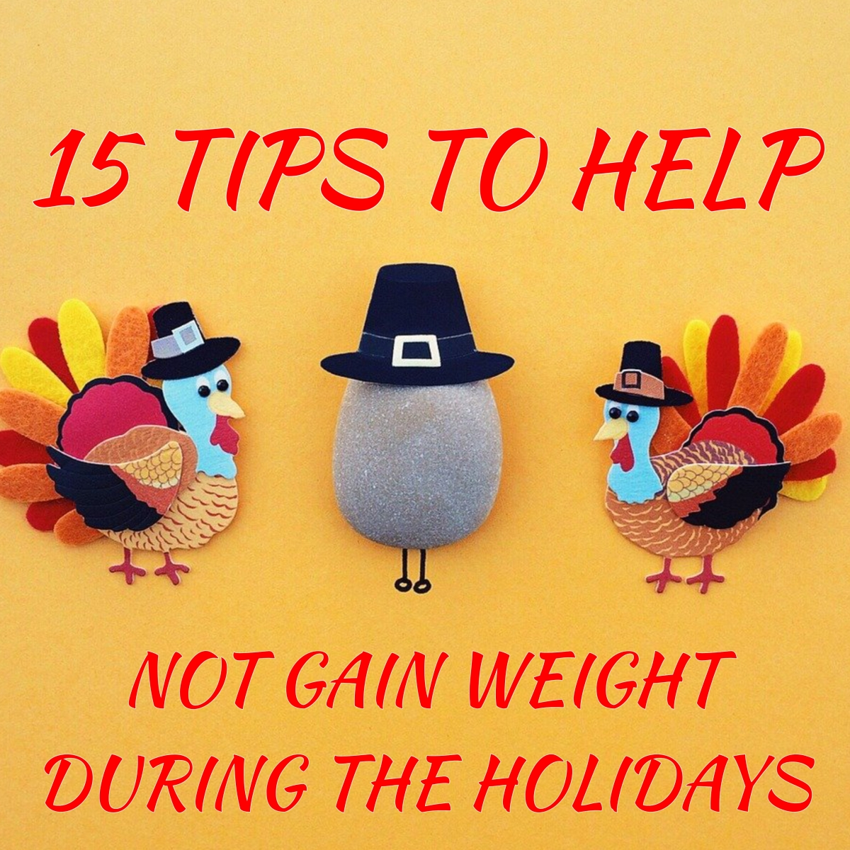 15 Tips To NOT Gain Weight During TheHolidays