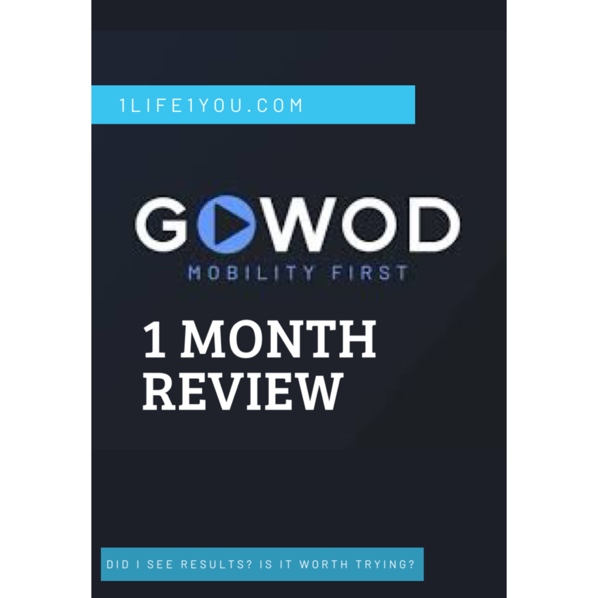 GoWoD Mobility App 1 Month Review