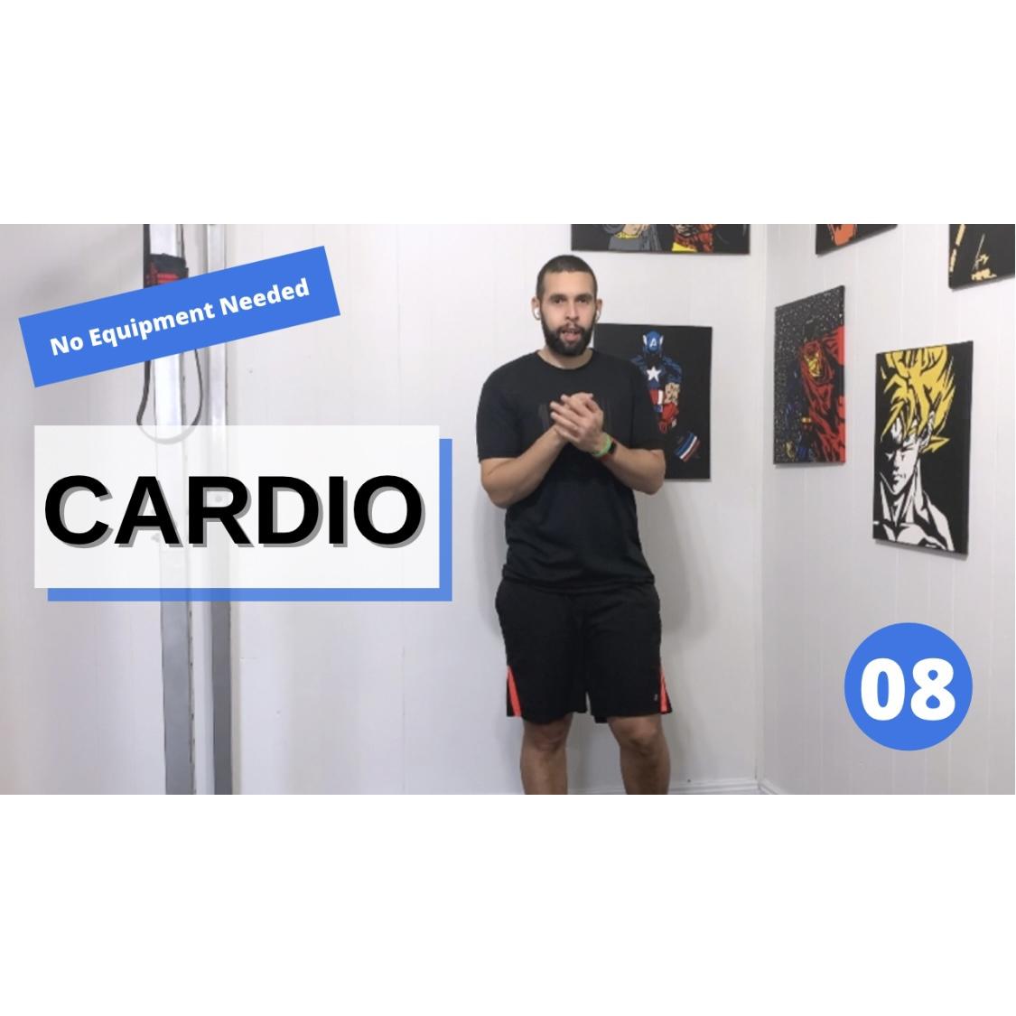 Sweaty Home Cardio HIIT BW08